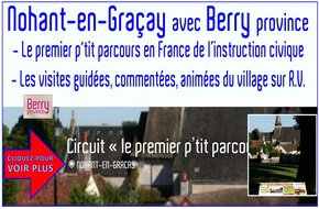 CIRCUIT et VISITES GUIDÉES du VILLAGE